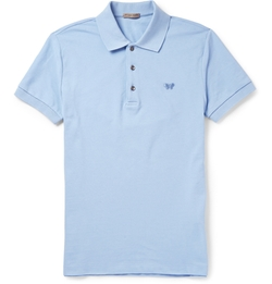Bottega Veneta - Cotton-Piqué Polo Shirt
