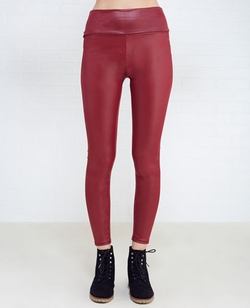 Wetseal - High-Waisted Faux Leather Leggings