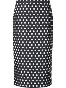 Rochas - Polka Dot Skirt