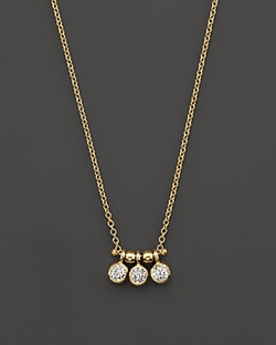 Zoë Chicco - Bezel-Set Three Necklace