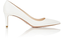 Prada  - Leather Pointed Toe Pumps