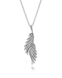 Pandora - Majestic Feathers Necklace