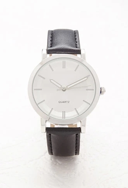 Forever 21 - Faux Leather Analog Watch