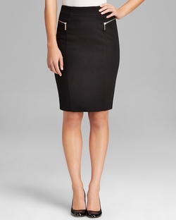 Michael Michael Kors  - Zip Pencil Skirt