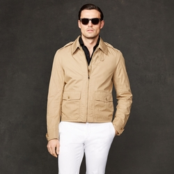 Ralph Lauren - Cotton Twill Cyprus Jacket