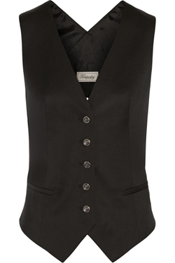 Temperley London - Isaac Wool-Twill Vest