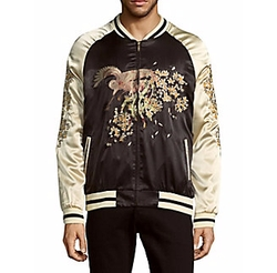Standard Issue NYC - Embroidered Bomber Jacket