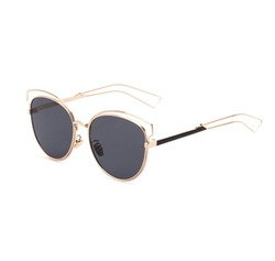 Allt - Retro Cat Eye Aviator Sunglasses