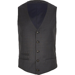 River Island - Dark Grey Vest