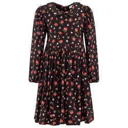 Dolce & Gabbana Junior - Black And Red Floral Dress