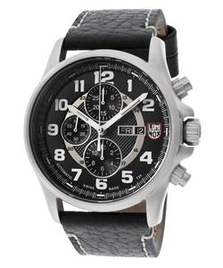Luminox - Field Valjoux  Chrono Leather Watch