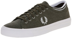 Fred Perry - Kendrick Tipped Pigment-Dyed Cnv Fashion Sneakers