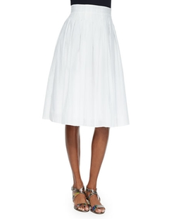 Risto  - Novara Pleated A-Line Skirt