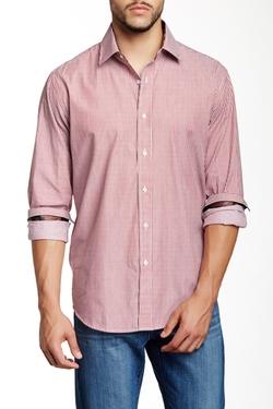 Bristol & Bull - Regular Fit Spread Collar Long Sleeve Dress Shirt