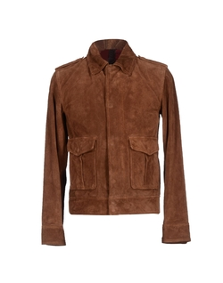 Cover Orciani - Snap Button Suede Jacket