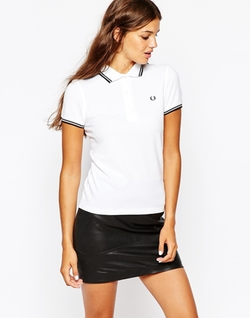 Fred Perry - Twin Tip Polo Shirt