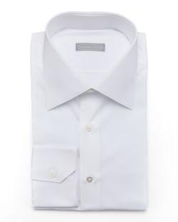 Stefano Ricci - Basic Barrel-Cuff Dress Shirt