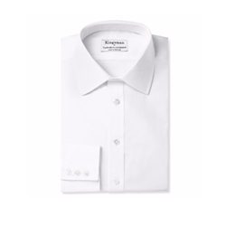 Kingsman + Turnbull & Asser  - White Royal Oxford Cotton Shirt