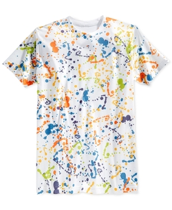 Univibe - Double Drip Sublimation Graphic-Print T-Shirt