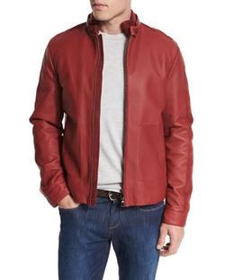 Loro Piana - Leather Biker Jacket