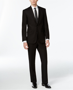 Kenneth Cole Reaction - Solid Slim-Fit Suit
