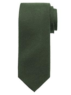 Banana-Republic - Green Wool/silk Tie