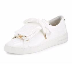 Michael Kors - Keaton Kiltie Faux-Patent Sneakers