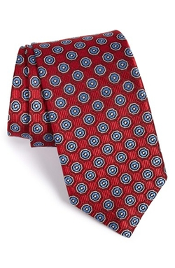 J.Z. Richards - Medallion Woven Silk Tie