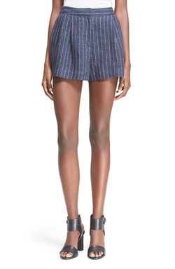 3.1 Phillip Lim - Pleated Linen Shorts