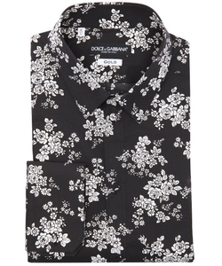 Dolce & Gabbana  - Floral Print Cotton