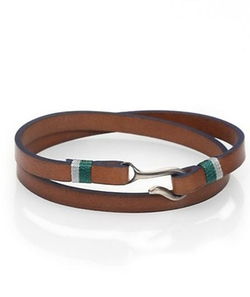 Miansai  - Foskol Leather Wrap Bracelet