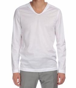 Berluti - Long-Sleeve V-Neck T-Shirt