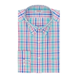Izod - Patterned Dress Shirt