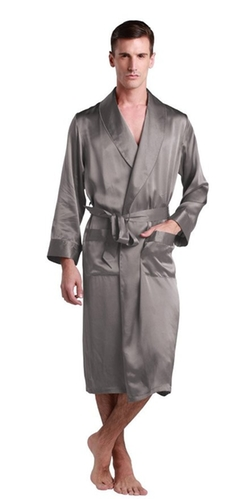 LilySilk - Long Silk Robe