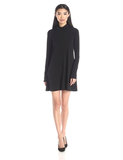 BCBG - Turtle Neck A-Line Dress