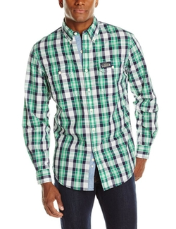U.S. Polo Assn. - lim Fit Long Sleeve Button Down Plaid Shirt
