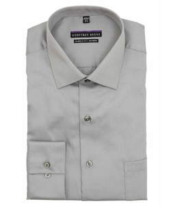 Geoffrey Beene  - Solid Non Iron Sateen Dress Shirt