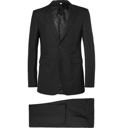 Burberry London - Black Slim-Fit Wool Suit