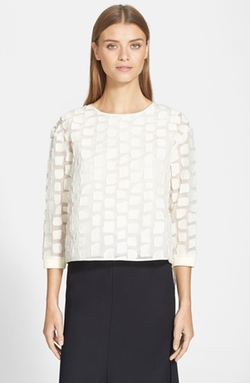 Tibi - Fil Coupe Top