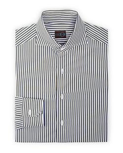 Eidos  - Vertical Shadow Stripe Dress Shirt