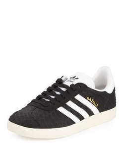 adidas - Gazelle Original Snake-Embossed Sneakers