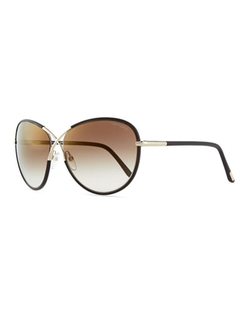 Tom Ford - Rosie Oversized X Sunglasses