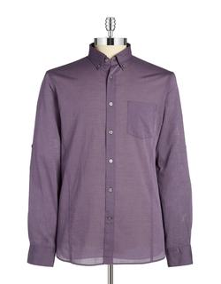 John Varvatos U.S.A. - Roll-Tab Sleeve Sportshirt