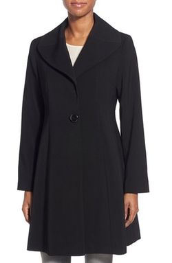 Gallery - Single Breasted Wing Collar Nepage Coat