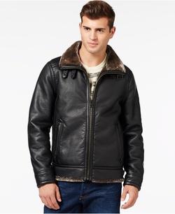Guess - Faux-Shearling Jacket