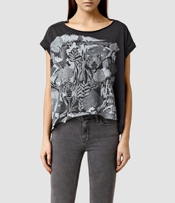 All Saints - Bornea Pina T-Shirt