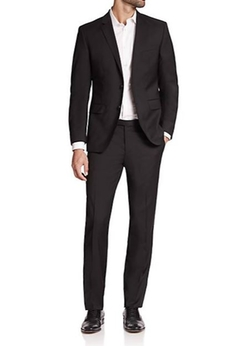 Hugo Boss - James Sharp Regular-Fit Super 120 Wool Suit