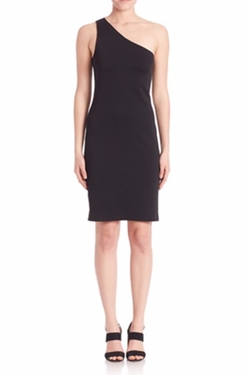 Helmut Lang - One-Shoulder Bodycon Dress