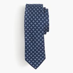 J.Crew - Italian Silk Tie In Square Medallion