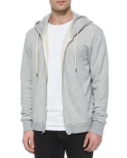 Rag & Bone - Full-Zip Hooded Sweatshirt